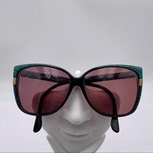 Oleg Cassini OC953 Blue Oval Sunglasses Frames